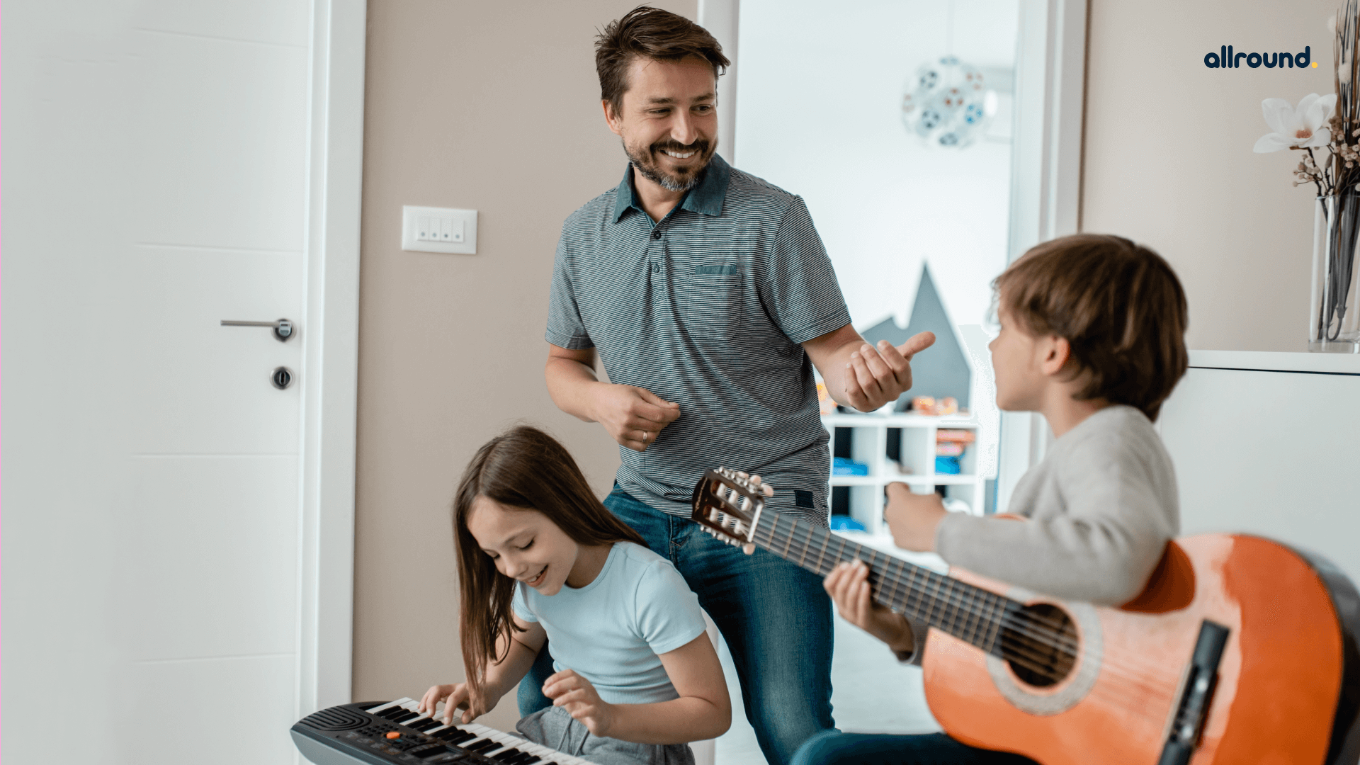 Boredom Busting Musical Activities for kids and Parents at Home