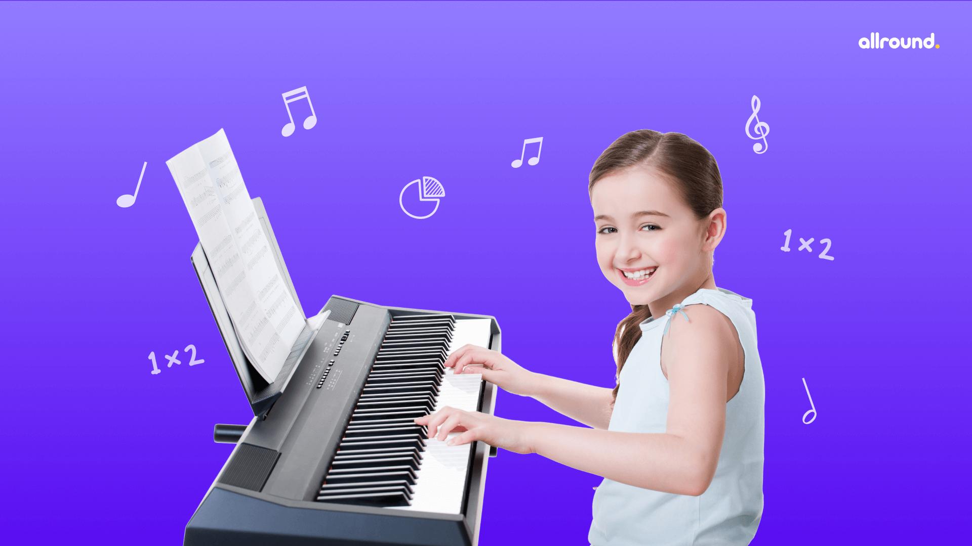 Music & math integration ideas for homeschooled kids