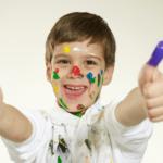 thumb printing art kids
