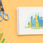how to draw a city